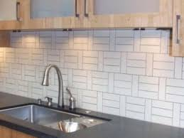 Glass Tile Kitchen Backsplash by Amazingly Modern White Glass Kitchen Backsplash My Home Design