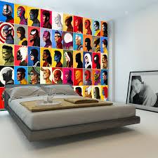 Captain America Bedroom by Online Shop Superhero Comics Wallpaper Spiderman Wall Mural