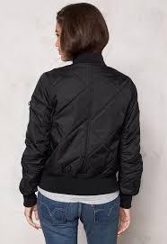rut circle rut circle kate quilt bomber jacket black bubbleroom