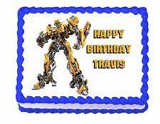 optimus prime cake topper transformers cake topper ebay
