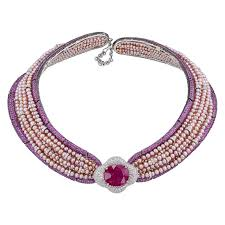 collar diamond necklace images Jahan important 30 carat burma ruby pink sapphire pearl diamond jpg
