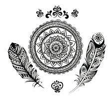 Indian Art Tattoo Designs 19 Best Tattoo Ideas Images On Pinterest Mandalas Feather