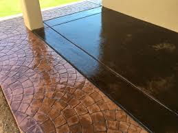 Stain Existing Concrete Patio by Concrete U0026 Pool Decks