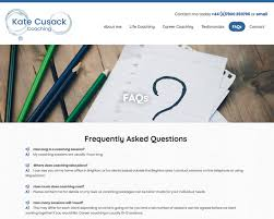 kate cusack career and lfe coaching website deisgn and build