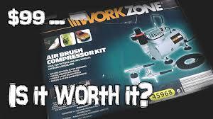 99 aldi airbrush kit is it worth it youtube