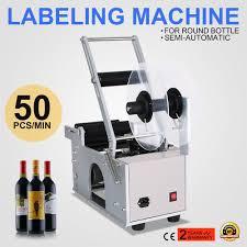 manual label applicator machine mt 50 semi automatic round bottle labeling machine economic manual