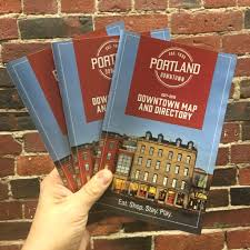 Map Downtown Portland by Get A Guidebook Portland Downtown
