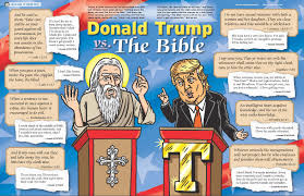 mad comparison of the bible and donald