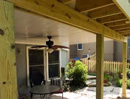 pictures of under deck ceiling guttering systems by all weather