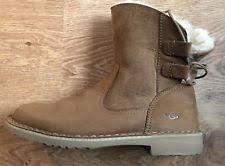 s ugg australia brown joey boots ugg australia s ankle boots ebay