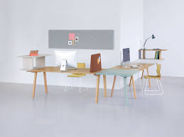 working desk rail working desk system by period of time stylepark