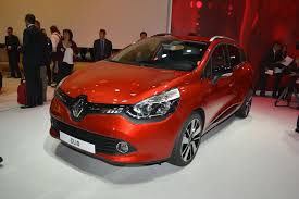 renault paris world premiere of the new renault clio 4 at 2012 paris motor show