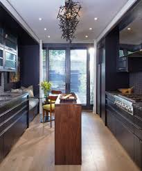 Dark Kitchen Island Eat In Kitchen Decorating Ideas Kitchen Contemporary With Small