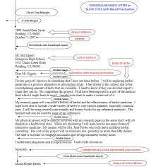 Business Letter Return Address part of business letter the styles of business letters dina dwi