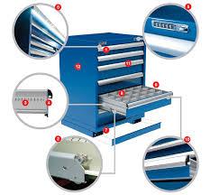 Modular Drawer Cabinet Metalia Modular Drawer Cabinets Parts Storage Isda Network