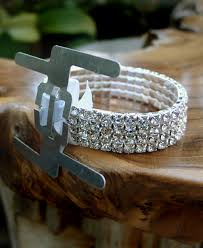 wrist corsage supplies silver wristlet rhinestone river designs corsage