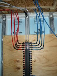 how to install a pex plumbing system pex plumbing radiant heat