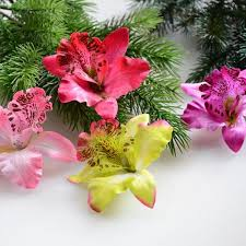 2017 wholesale silk orchid artificial flower orchids high quality
