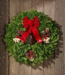 fresh wreaths fresh christmas wreaths items at l l bean