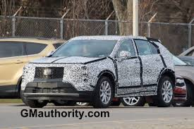 cadillac minivan 2017 cadillac xt4 spy shots shows off more design gm authority