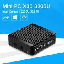 pc bureau wifi mini computer desktop celeron j1900 micro pc 2 lan hdmi