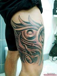 tribal sword thigh tattoo tattoo viewer com