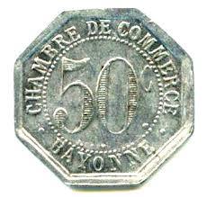 chambre du commerce bayonne 50 centimes chambre de commerce bayonne 64 notgeld