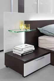 Modern Beds With Storage Modrest Gamma Contemporary Brown Oak Bed With Storage Modern