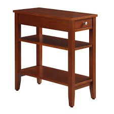 Cherry End Tables Convenience Concepts American Heritage 3 Tier Cherry End Table