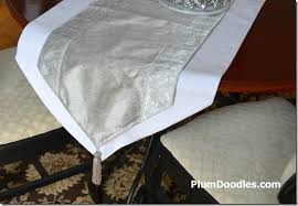 how to make a table runner with pointed ends how to make a table runner with pointed ends tipsy tuesday 16