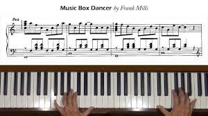 box frank mills box dancer frank mills piano tutorial
