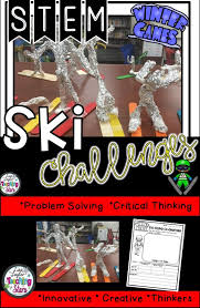 During Challenge Stem Winter Ski Challenge Will Engage All Your Students