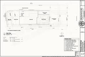construction site plan ironwood residential construction plans exle set