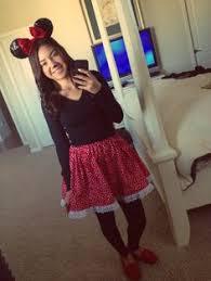 Minnie Mouse Halloween Costume Diy Diy Minnie Mouse Costume Minnie Mouse
