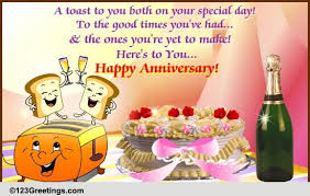 10 Year Anniversary Card Message Anniversary Cards Free Anniversary Wishes Greeting Cards 123