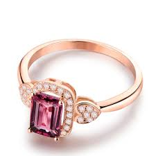 Western Wedding Rings by Pink Tourmaline Ring Picture More Detailed Picture About Western