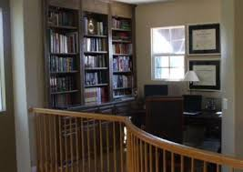 Built In Bookshelves With Desk by Custom Home Office Cabinets And Built In Desks