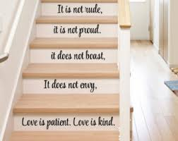 Religious Home Decor Stair Decals Etsy