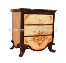 Retro Bedroom Furniture Sets by Antique Retro Bed Set Vintage Lacquer Wooden Night Stand Luxury