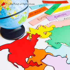 map geography activities for free printable