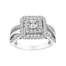 Kohls Wedding Rings by Vera Vera Wang 14k White Gold 1 Carat T W Certified Diamond