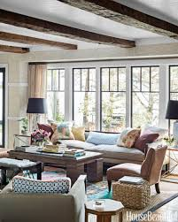 Rustic Home Decorating Ideas Living Room by Thom Filicia Lake House Rustic Lake House Decor