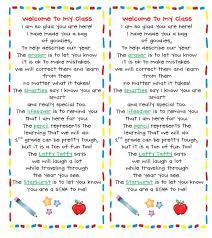 best 25 kindergarten welcome letter ideas on pinterest