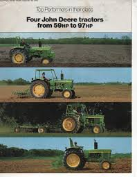 john deere tractor 1630 2030 2130 and 3130 brochure