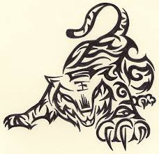 30 best tribal tiger tattoo drawings images on pinterest tigers
