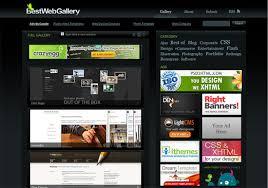 beste website design 16 best web design galleries for inspiration