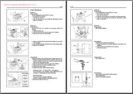 toyota forklift 7fg 7fd35 45 series workshop service repair