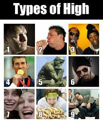 types of high weed memes