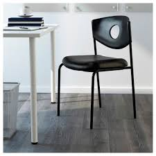 Stackable Chairs Ikea Stoljan Conference Chair Black Black Ikea