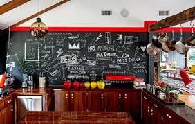 wandtafel küche wandgestaltung mit einer tafelwand